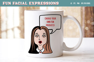 Fun Facial Expressions Vectors & PNG
