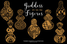 Load image into Gallery viewer, Mystical Goddess Figures BUNDLE SVG