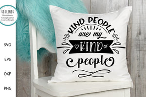 Kind People SVG - Being Kind Designs