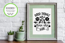 Load image into Gallery viewer, Sloth SVG Bundle - Relaxed & Fun Sloths PNGs