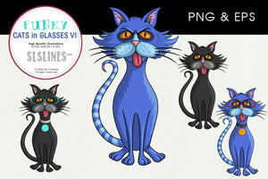 Angry Tom Cat Graphics EPS PNG