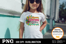 Load image into Gallery viewer, Be Someone's Sunshine - Kindness Sunflower Sublimation Design