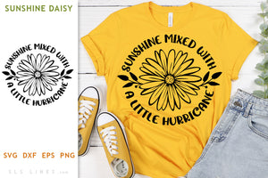 Sunshine Mixed with Hurricane Daisy SVG