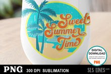 Load image into Gallery viewer, Summer Sublimation - Sweet Summer Time PNG