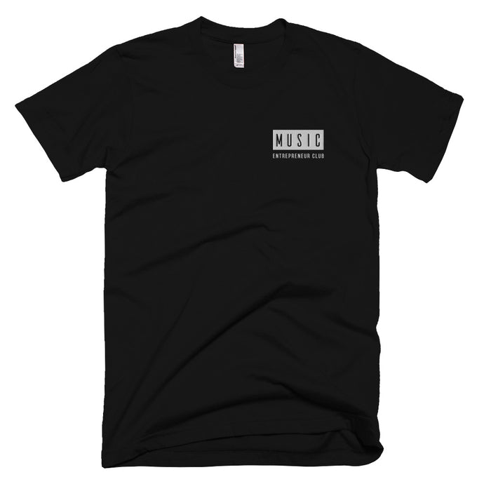 MEC Logo Embroidered T-Shirt (Black)