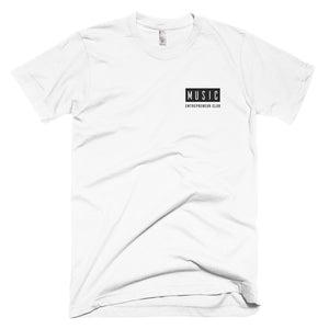 MEC Logo Embroidered T-Shirt (White)