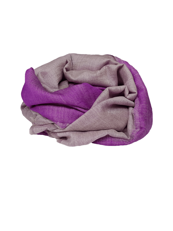 Narrowcast Scarves Faces - Reversible Cashmere