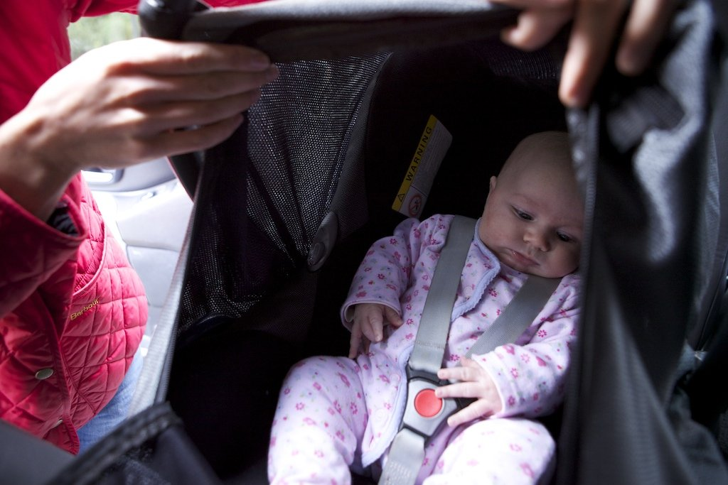 Why your child does NOT need a coat in the car_SnoozeShade.com