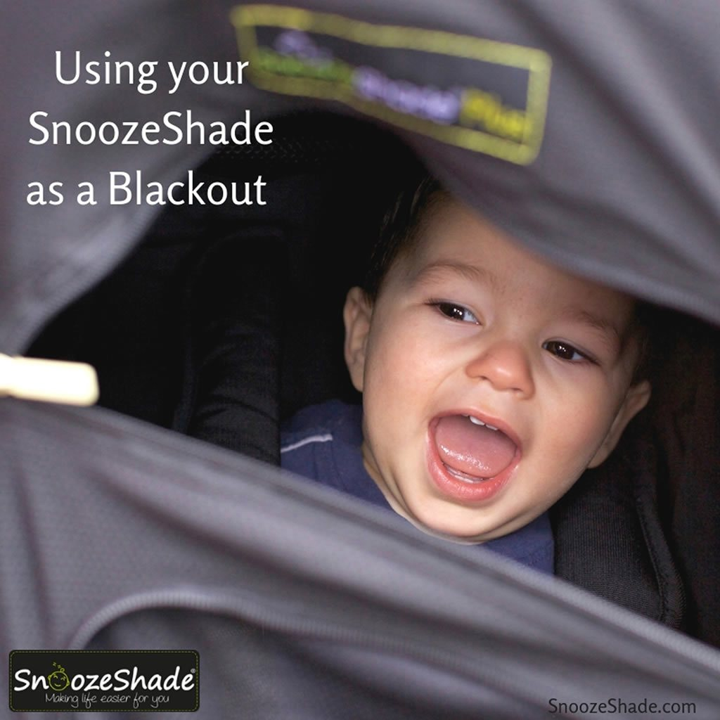 Using your SnoozeShade as a blackout blind