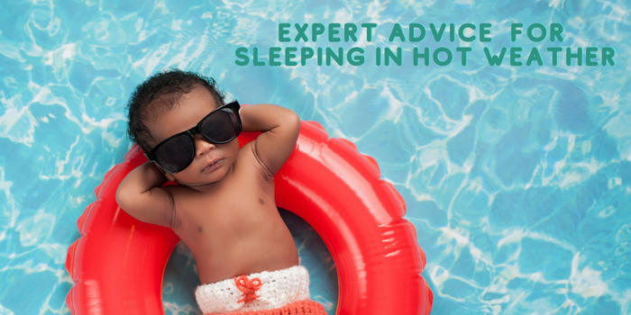 6 Expert tips for helping your baby to sleep in hot weather