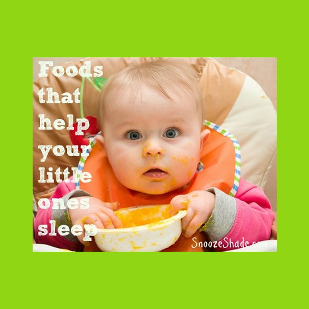 Foods that help your little ones sleep