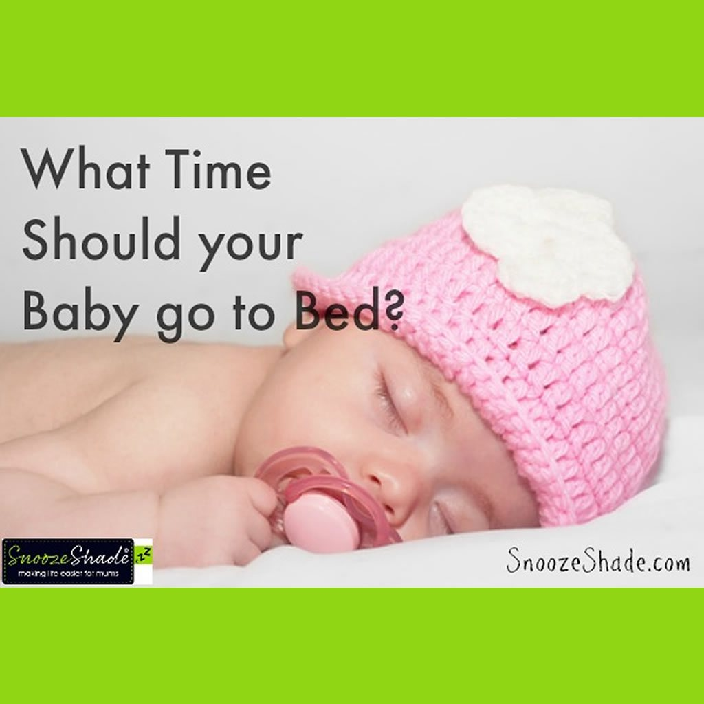 What Time Should your Baby go to Bed?