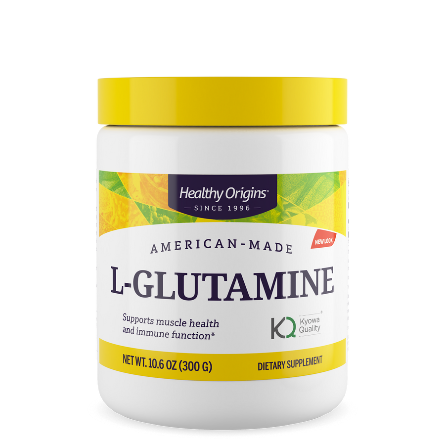 L-Glutamine (American-Made), 10.6 oz (300 g)