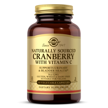 Solgar®'s Natural Cranberry with Vitamin C