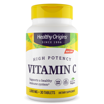 Vitamin C 1,000mg (Non-GMO) Tablets