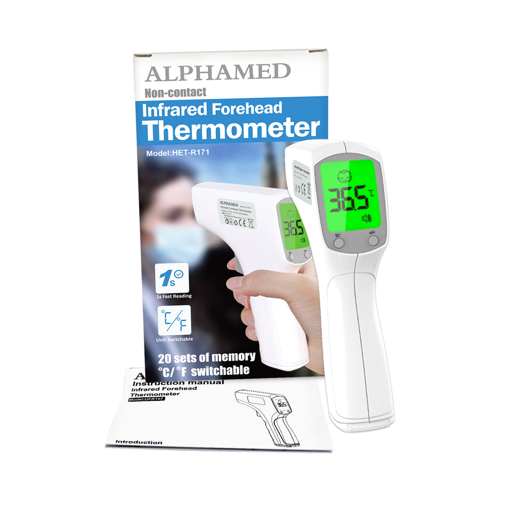 Alphamed UFR103 Infrared Thermometer