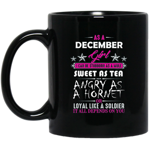 December Girl Mug Funny Birthday Gifts December Birthday Mugs