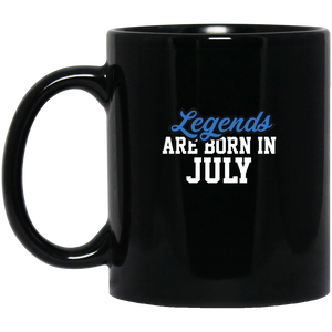 Legends Are Born In July Mug - Birthday Mug
