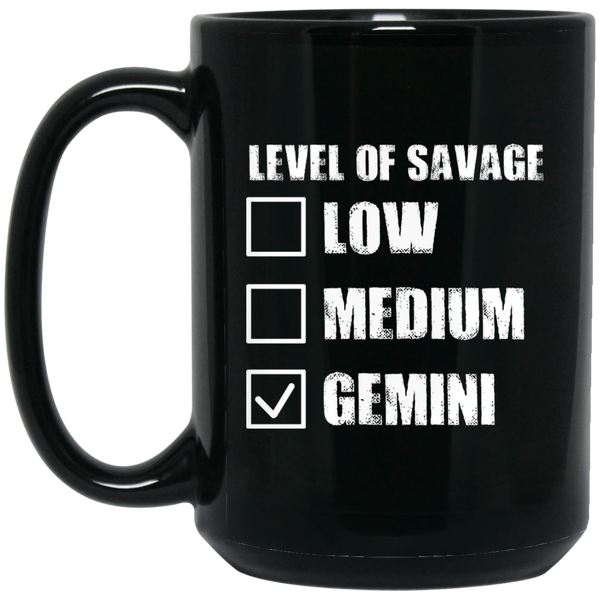 Gemini Zodiac Mug Gemini Mugs For Men Women Gemini Level