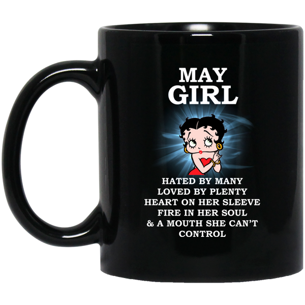 May Girl Mug May Born Mug May Queen Mug
