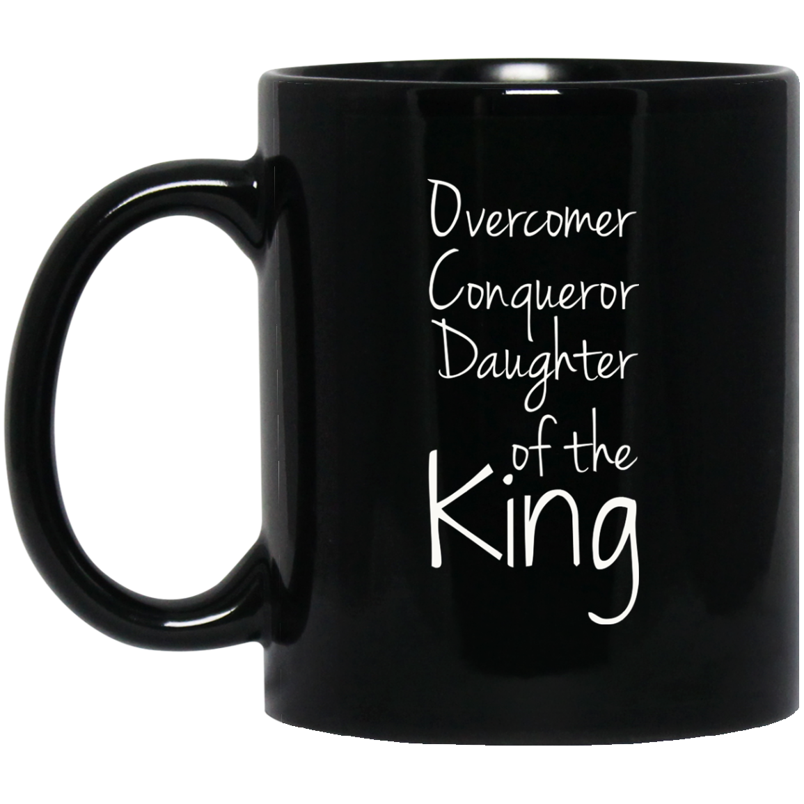 Christan Mugs Funny Jesus Mugs  Daughter Of The King Mug