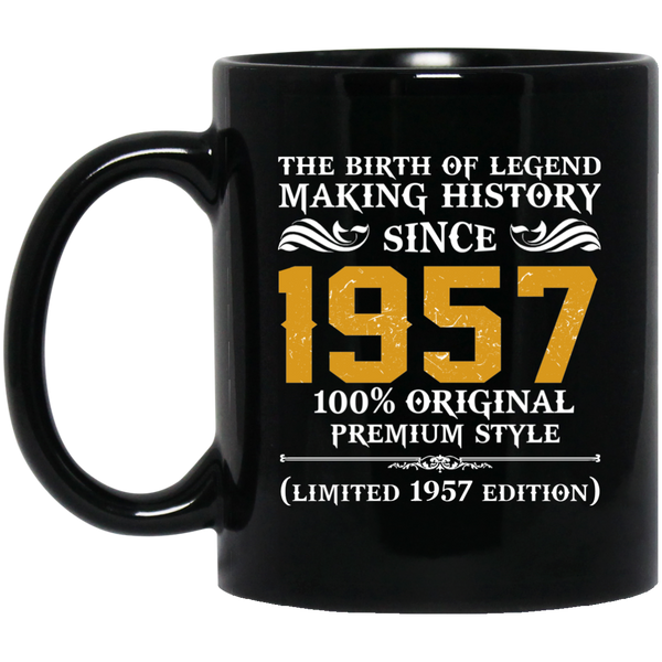 1957 Original Mens 60th Birthday Gift Mug