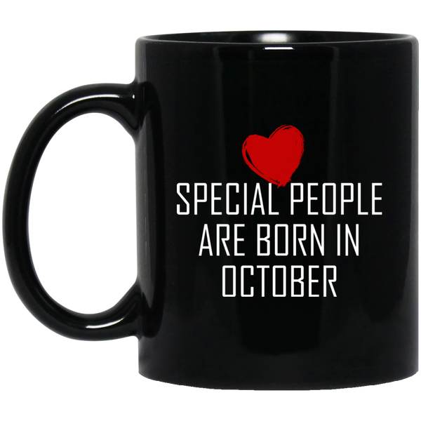 Special People Gifts October Born Mug Birthday Gifts