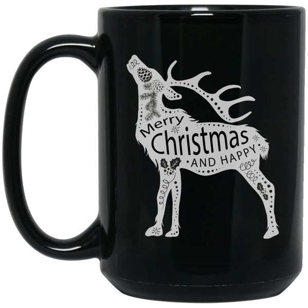 Chrismas Tree Mug Funny Santa Mugs Merry Christmas Happy Holidays Mug