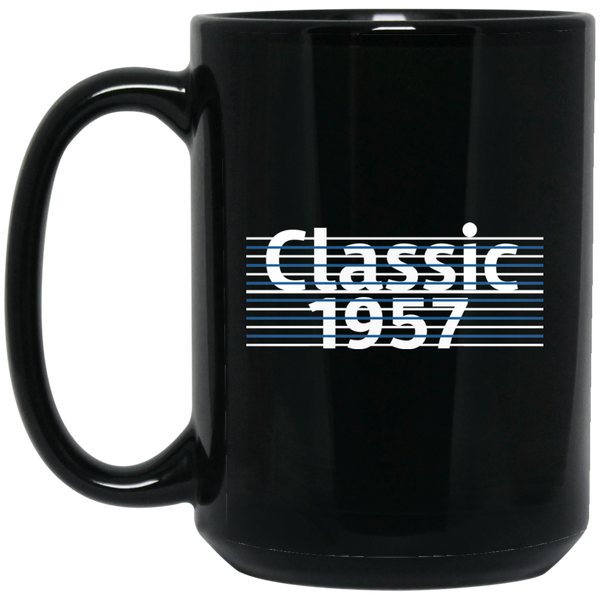 Men's Classic 1957 Mug 60th Birthday Gift 1957 Birthday Gifts