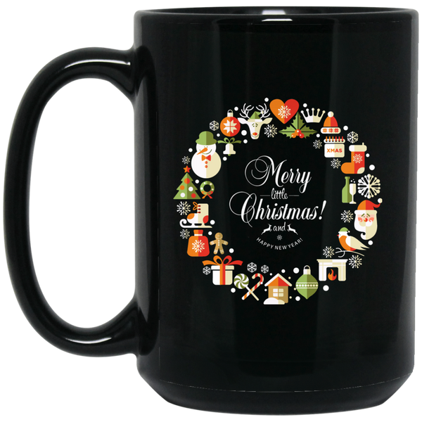Funny Christmas Mugs Merry Little Christmas Mug