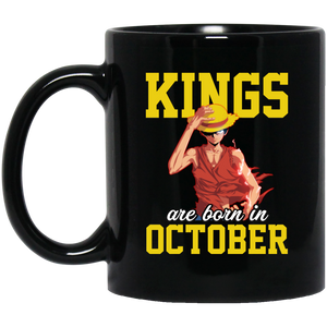 Kings Queens Are Born In October Mug  October Girl