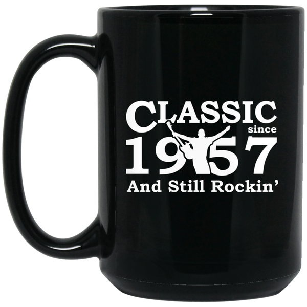 Classic Since 1957 Mug. Birthday Gift For 60 Years Old