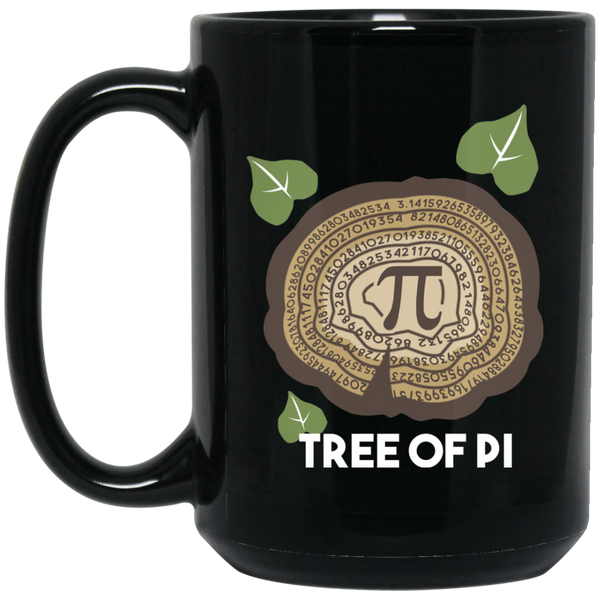 Pi Day Mug Funny Math Mugs Pi Tree Christmas Math Mug