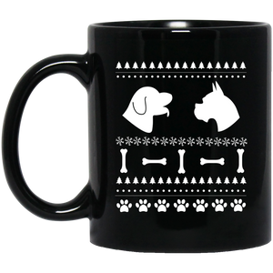 Funny Christmas Mugs Dachshund Christmas Mugs
