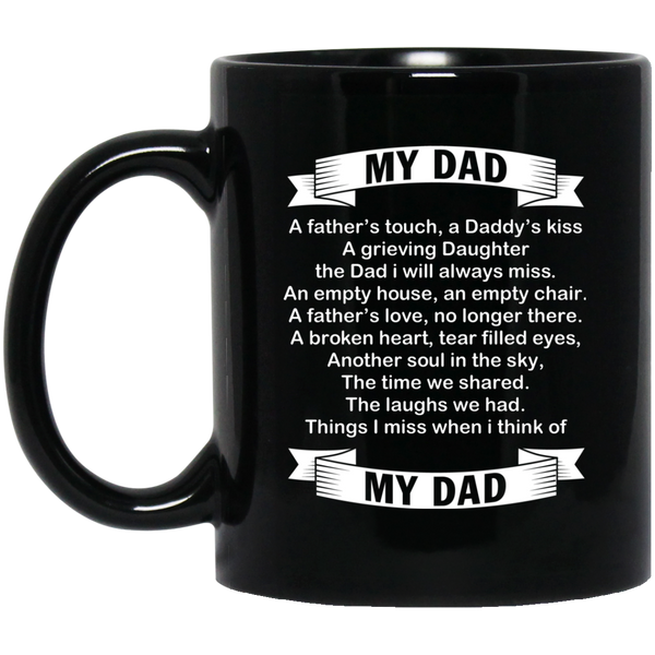 Funny Dad Christmas Mug Dad Poem From Daughter
