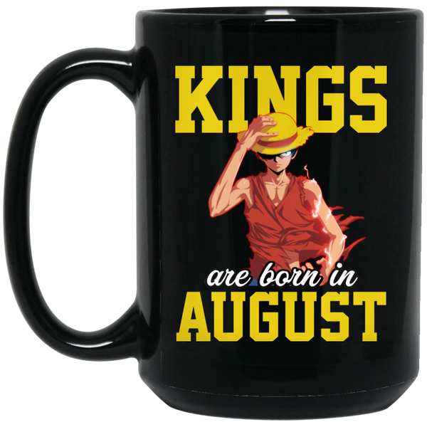 Born In August Mug  August Girl August Mugs 15Oz