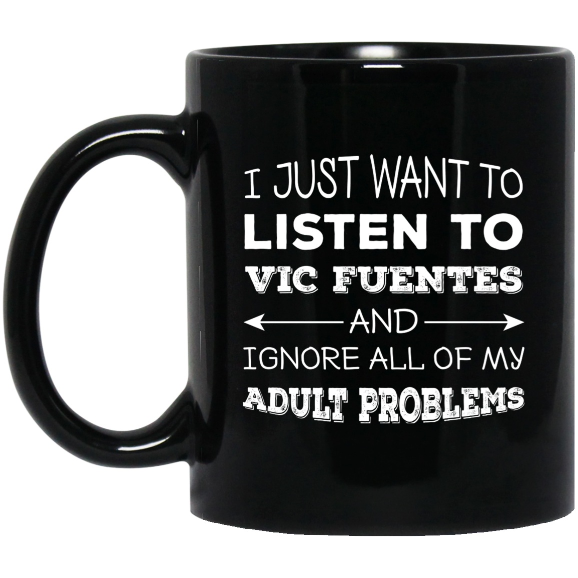 Vic Fuentes Mug - Ignore All Of My Adult Problems