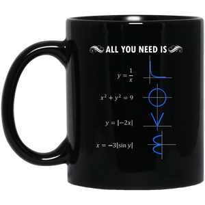 Pi Day Mug All You Need Is Love Mug Math Equations Mug