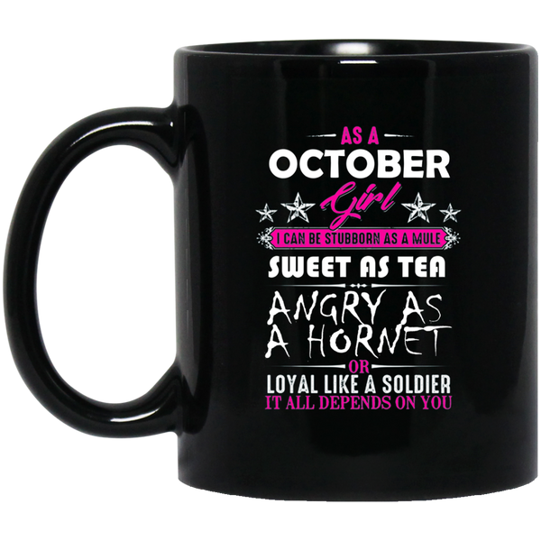 Born In October Mug October Birthday Mugs Funny Birthday Gifts