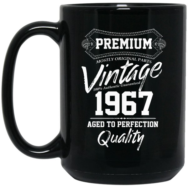 1967 Aged To Perfection 50th Birthday Gift Mug 50 Years