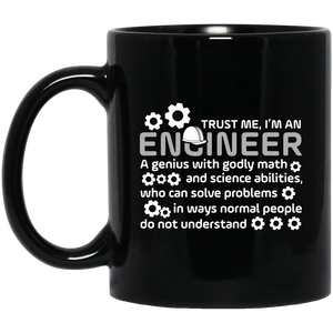 Pi Day Mug Funny Math Mugs Trust Me I'M An Engineer Mug