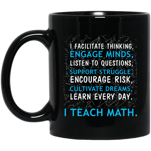 Pi Day Mug Facilitate Thinking Learn Everyday School Counselor Mug Funny Math Teacher Gifts