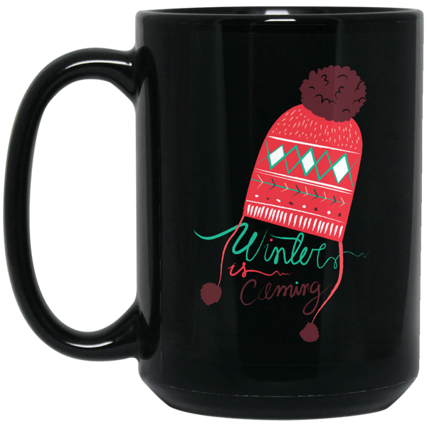 Funny Santa Mugs Women Winter Is Coming  Mug