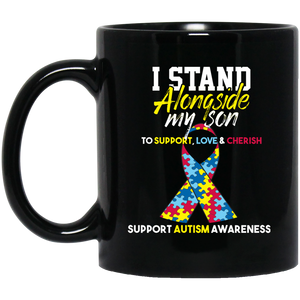 Autism Awareness Mug Autism Ribbon Autism Mug For Kids