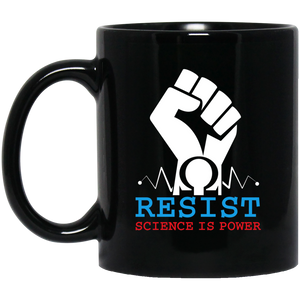 Earth Mugs Resist, Science is Power for March for Science