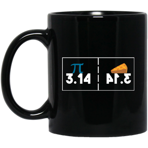 Pi Day Mug Pie Mug 3.14 Mug Pizza Pie And Slice Mug