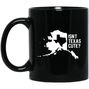 Isn't Texas Cute Alaska Flag Mug