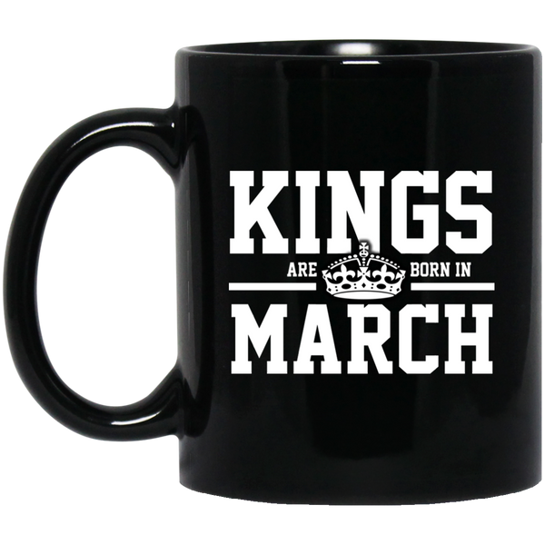Kings Are Born In March Mug Funny Birthday Gifts For Women