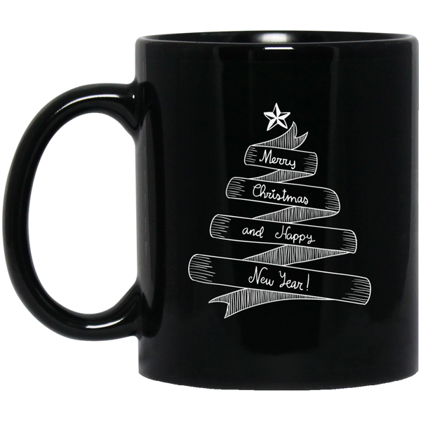 Chrismas Tree Mug Happy New Year 2018 Mug