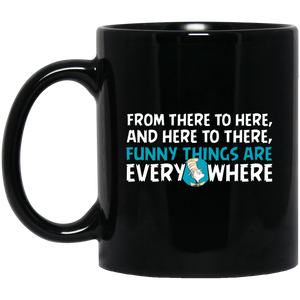 Dr. Seuss Mug Dr. Seuss Quotes From There To Here, And Here To There